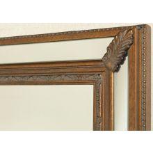 Antique Gold Acanthus Panel Mirror