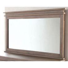 Settler Mirror in Sundried Ash