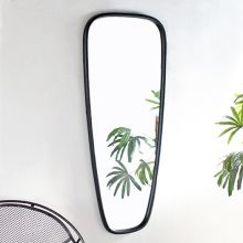 Bronze Crescent Mirror