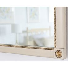 Vintage Ivory Mirror