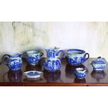 7 Piece Chinese Style Serving Set