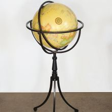 Vaugn Globe on Iron Stand
