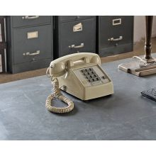 Classic Cream Pushbutton Telephone