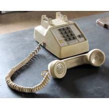 Classic Cream Pushbutton Telephone