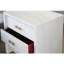 Mitchell Gold Malibu 3 Drawer Bedside Table