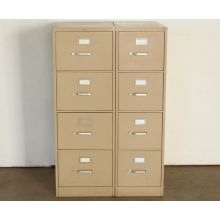 4 Drawer Putty Office File Cabinet