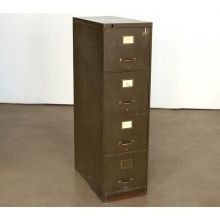 4 Drawer Brown Office File Cabinet