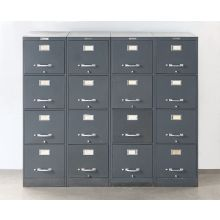 4 Drawer Gray Office File Cabinet