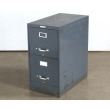 2 Drawer Gray Office File Cabinet