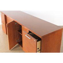 Mahogany Laminated Office Credenza