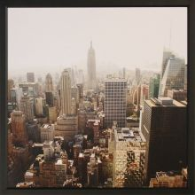 New York City From Above 43W x 43H