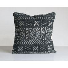 Mud Cloth Print Pillow