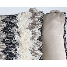 Multi Fringe Pillow