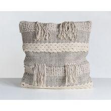 Braided Fringe Pillow