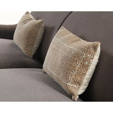 Rust Diamond Lumbar Pillow