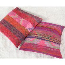 Pink & Red Tribal Floor Pillow