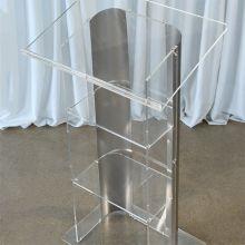 Acrylic & Steel Podium