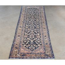 "3'5"" x 9'4"" Malayer Persian Runner Circa 1917"