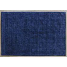 9' x 13' Navy Hand-Loomed Plush Rug