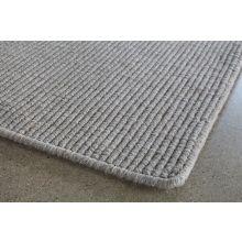 9' x 13' Taupe Wool Sisal Rug