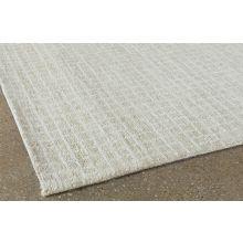 """9' 3"""" X 13' Beige Squared Wool Rug"""