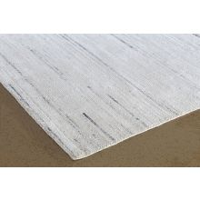 """8' 6""""  X  11' 6"""" Ivory And Stone Hand Loomed Rug"""