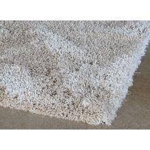 "7' 10"" X 11 Sand Two Inch Pile Shag Rug"