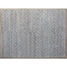 Diamond Pattern 8' X 10' - Grey Rug
