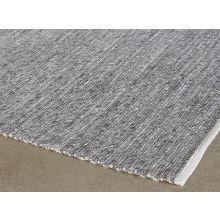 8' X 10' Grey Woven Rug