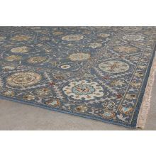 "7'9"" X 9'9"" Sage Soumak Hand Knotted Wool Rug"