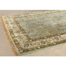 5' X 8' Ocean Persian Style Tufted Wool Rug