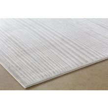5' X 8' Melina Rug In Taupe-White
