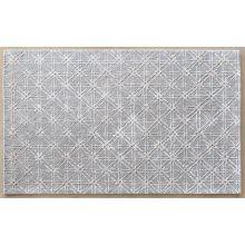 5' X 8' Manoa Rug In Gray Silver