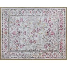 8' X 10' Armant Rug In Pink Ivory