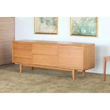 Modern Bamboo Sideboard