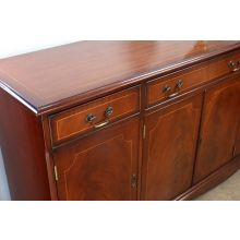 Mahogany Four Door Sideboard, Circa 1960