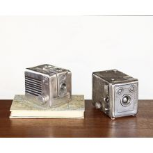 Set of 2 Vintage Camera Boxes - Cleared Décor