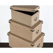 Set of 3 Corbin Storage Boxes
