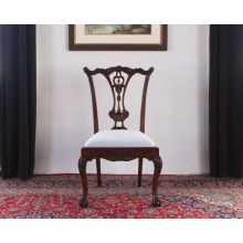 Claw and Ball Foot Mahogany Dining Room Chairs