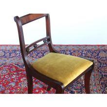 Regency Style Mahogany Dining Room Chair, Circa 1960