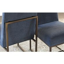 Mitchell Gold Gage Tall Dining Chair in Slate