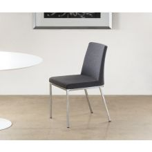 Weston Side Chair in Dark Gray Cashmere