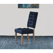 Rosalind Side Chair in Navy