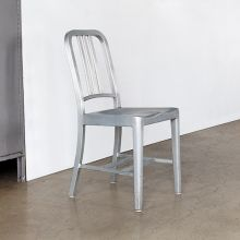 Aluminum Navy Side Chair