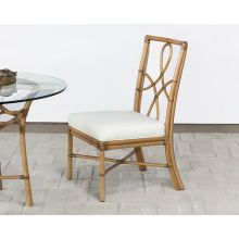 Rattan Framed Side Chair