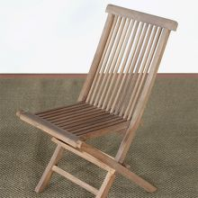 Weathered Teak Folding Chair