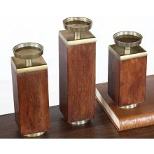 Set of 3 Eden Candleholders