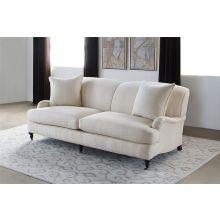 George Smith Style Tightback Sofa in Linato Cream