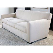 Jean Michel Frank Style Sofa in Linato Cream
