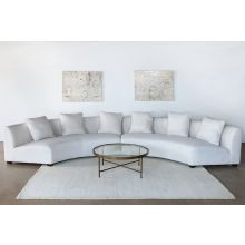 Dover 2-Piece Crescent Sectional